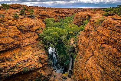 澳大利亚瓦塔卡国家公园洲巡出国