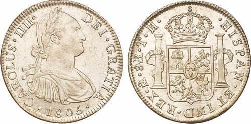 西班牙银币正反面洲巡出国