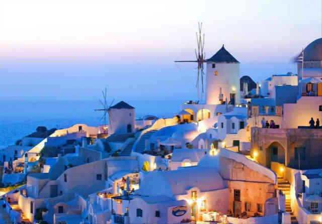 希腊米科诺斯岛洲巡出国