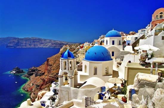 希腊圣托里尼岛洲巡出国