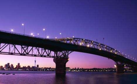 新西兰奥克兰港湾大桥洲巡出国