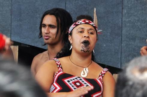 新西兰毛利面部刺青洲巡出国