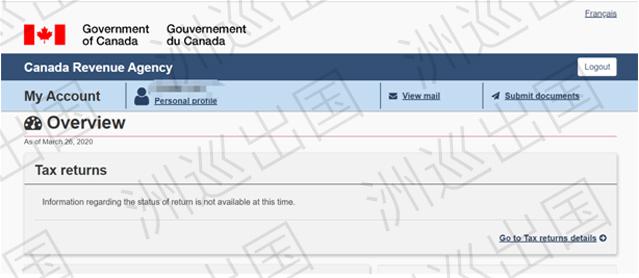 加拿大CRA账户激活