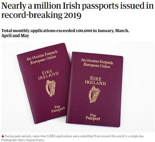 美国众议院通过爱尔兰E-3签证,爱尔兰护照含金量再次攀升!洲巡出国